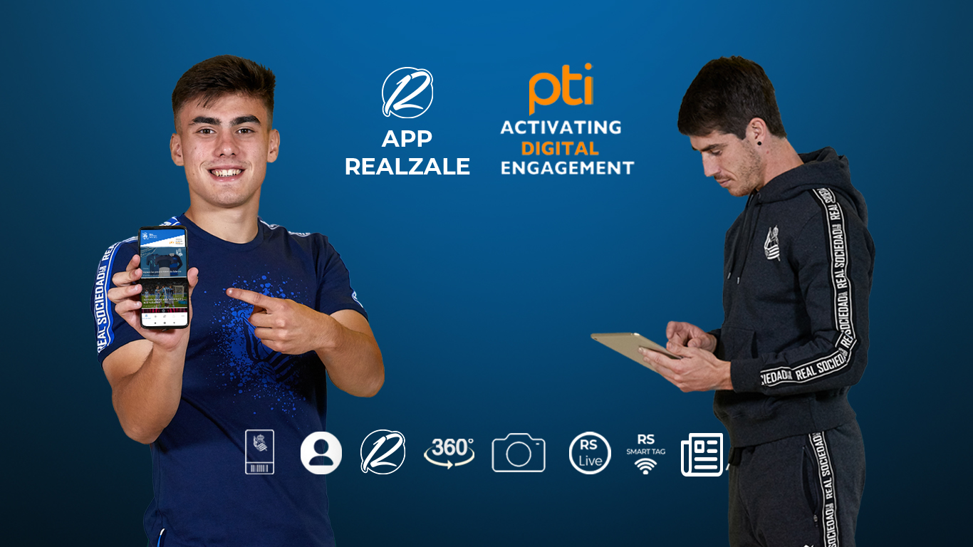 Real Sociedad turn to PTI Digital to drive enhanced mobile engagement and digital revenues